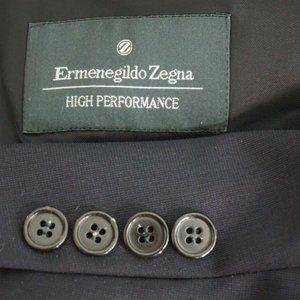 Ermenegildo Zegna High Performance Navy Blue Wool